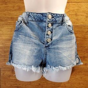 Blue Asphalt jean shorts, 13